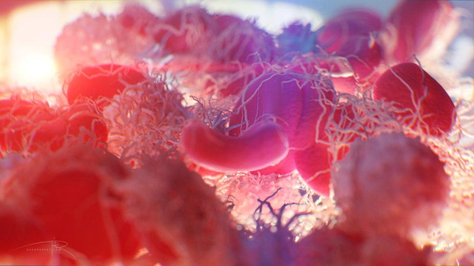 """Blood clotting"" by Alexey Kashpersky, Radius Digital Science is licensed under CC BY-NC 4.0"