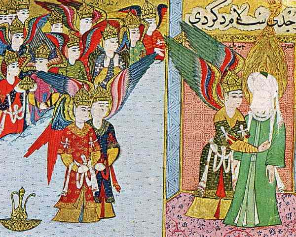 Muhammad and angels