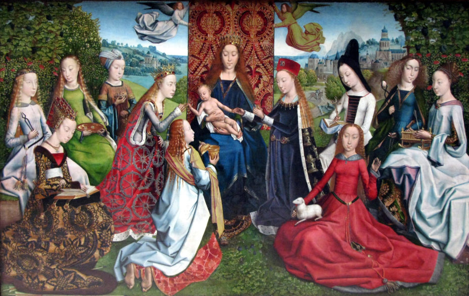 Saints and Mary